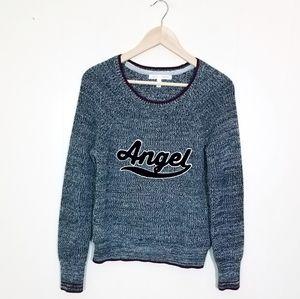 Victoria's Secret Angel Varsity Knit Sweater